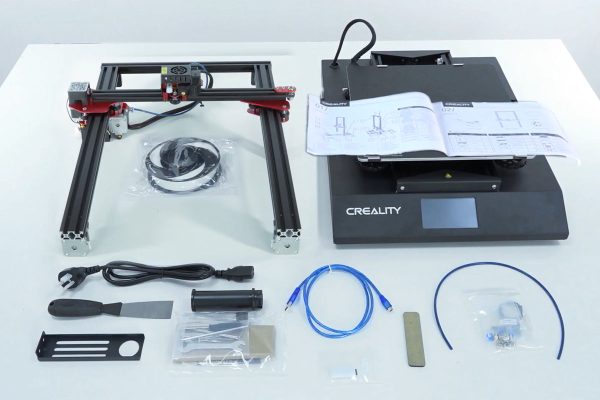 Creality CR 10s Pro V2 - Package
